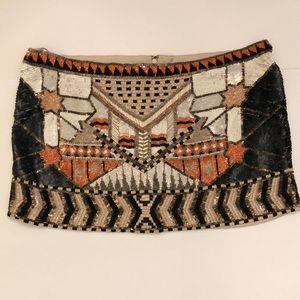 All saints beaded skirt